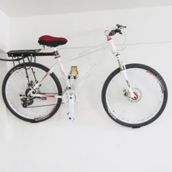 벽고정형 실내 자전거거치대