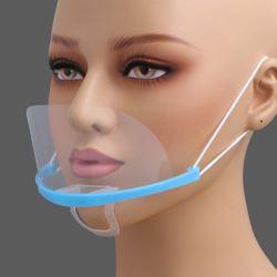 쉴드 투명 위생 마스크 10p세트(블루)