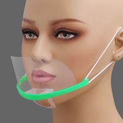 쉴드 투명 위생 마스크 10p세트(그린)
