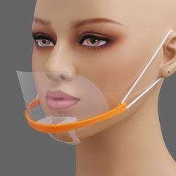 쉴드 투명 위생 마스크 10p세트(오렌지)