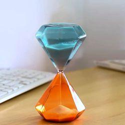 글라스 다이아몬드 모래시계(30분)
