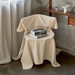블랭크 쿠션 의자커버 . 광목 식탁의자커버 (RM 309001)