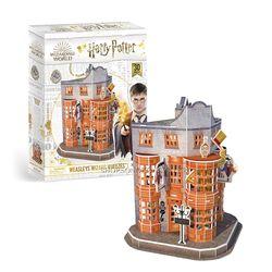 해리포터 위즐리 형제 장난감 가게 입체퍼즐  62피스