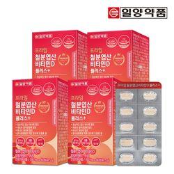 일양약품 프라임 철분 엽산 비타민D 90정 4박스