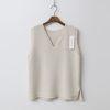Fine Wool V-Neck Vest