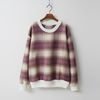 Wool Check Sweatshirt