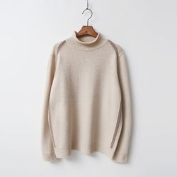 Cashmere Wool Half Turtleneck Sweater