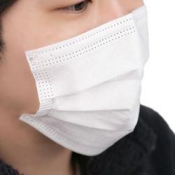 끈없는 붙이는 일회용 마스크 50매