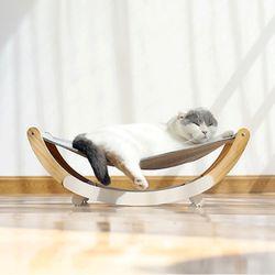 diy 고양이 반달 흔들 해먹침대