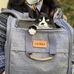골골백 고양이 이동장 가방 백팩 야외 외출백