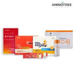 [무료배송] 필수아미노산플랜 아미노포켓 5000+10000+핏0.18+콜라겐젤리