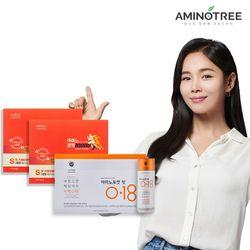[무료배송] 액티브플랜 아미노포켓10000(2세트)+핏0.18 자몽오렌지
