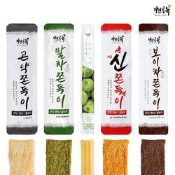 [무료배송] 맛보기 곤약쫀득이 5종 세트 (10개입) 곤약쫀드기