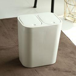 심플 원터치 분리형 휴지통 18L