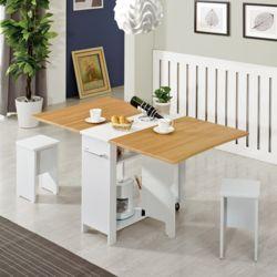 접이식테이블 2인 4인 홈카페 식탁 공간활용