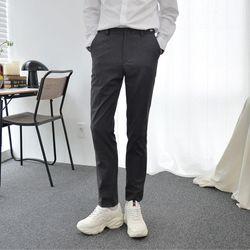 [빅사이즈](스판 극대화)매트 그레이 동복 교복바지
