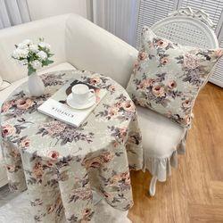 로즈가든 식탁보 (3색상) 테이블보 프렌치 프로방스