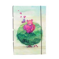 DIY북아트1014S 로로비비 나무 (수첩만들기 KIT)
