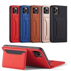 갤럭시노트10/플러스 카드 지갑 가죽 핸드폰 케이스