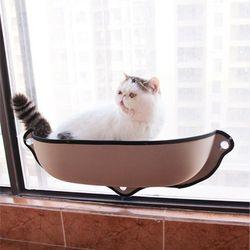 고양이 해먹 윈도우 창문 부착 캣해먹