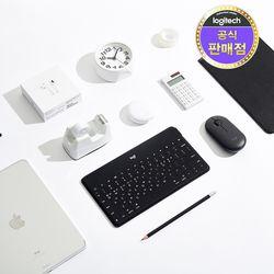 로지텍코리아 Keys-to-go 애플 호환 블루투스 키보드