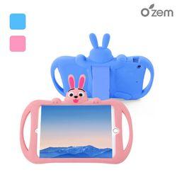 오젬 아이패드 에어2 프로9.7 공용 토끼 캐릭터 실리콘 케이스