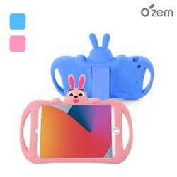 오젬 아이패드 7세대 8세대 10.2 공용 토끼 캐릭터 실리콘케이스