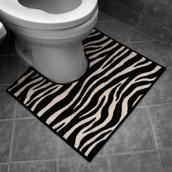 건식화장실 지브라 변기매트 변기발매트