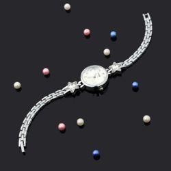 플로리나 여성 손목시계(실버)