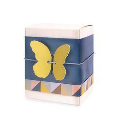 (인디고샵)노랑 나비 팝업 [텍] (10개)
