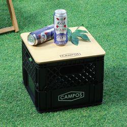 제이픽스 캄푸스 감성캠핑 수납 Milk Box(자작상판포함)