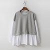 Puff Sweatshirt Blouse