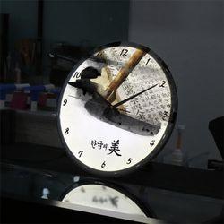 nf600-한국의미LED시계액자35R