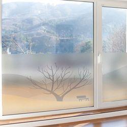 bf703-글라스시트지나무한그루와벤치