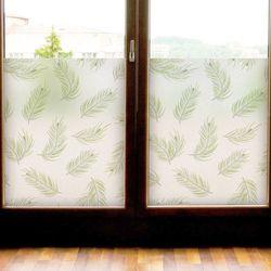 af741-글라스시트지초록색나뭇잎