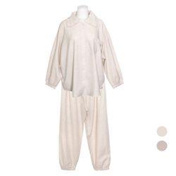 NEMO [쿠비카]카라주름 프릴 투피스 여성잠옷 W703