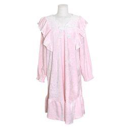 NEMO [쿠비카]숄더 레이스 극세사 원피스 여성잠옷 W701