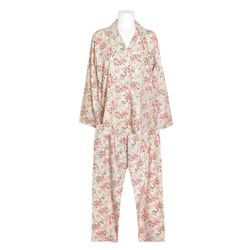 NEMO [쿠비카]플라워 모달 코튼 투피스 여성잠옷 W699