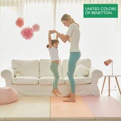 베네통 항균 층간소음 핑크 유아 폴더매트 260x140