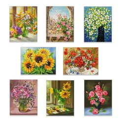 DIY 캔버스 보석십자수 정물 시리즈 - 40x50cm