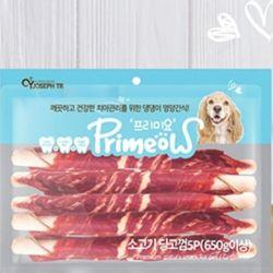 강아지 개껌 5p 소고기 애견 영양 간식 반려견 디저트