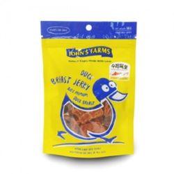 강아지 수제간식 죤스팜스 오리 80g 애견육포 사료