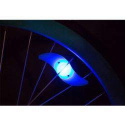 실리콘 자전거 휠라이트(블루)