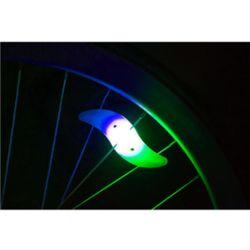 실리콘 자전거 휠라이트(믹스)