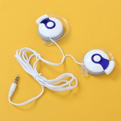 보이스 귀걸이형 이어폰(화이트)