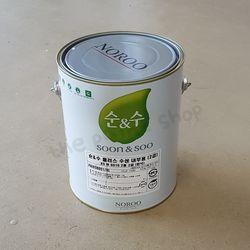 노루페인트 순앤수 플러스 (내부 수성페인트) 4L(백색)