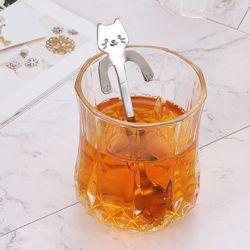 고양이팔 컵걸이 티스푼
