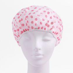 큐티 땡땡이 샤워캡(핑크)
