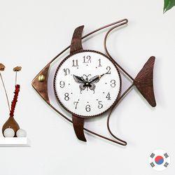 물고기 동공예품 벽시계 SBC-101
