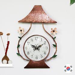 꽃등불 동공예품 벽시계 SBC-110